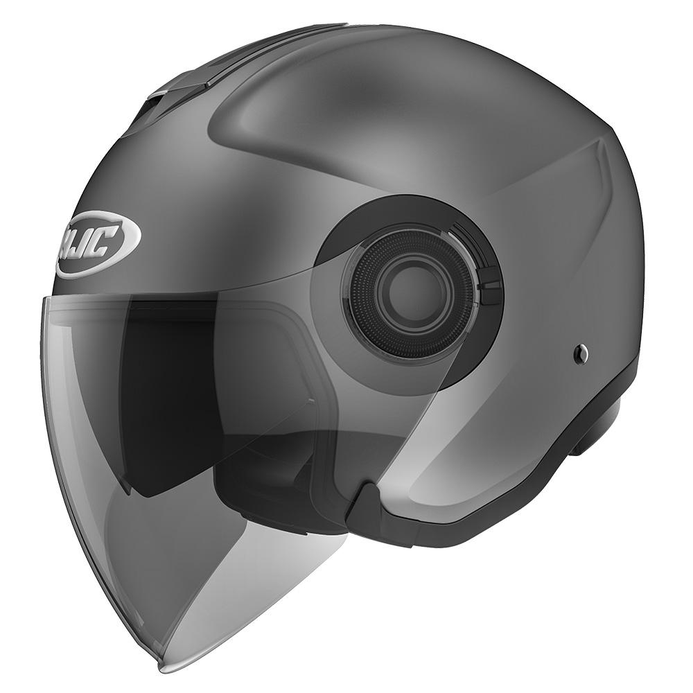 HJC I40 Semi Flat Titanium