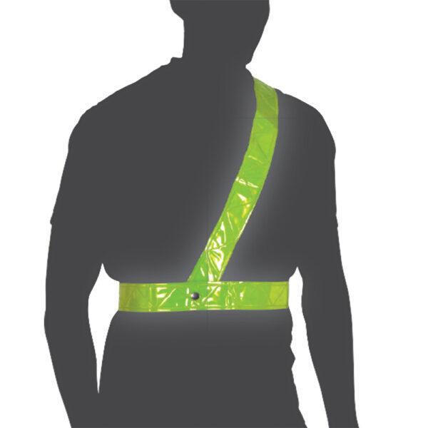 Oxford Cycle Bright Belt Reflective Shoulder Strap Large