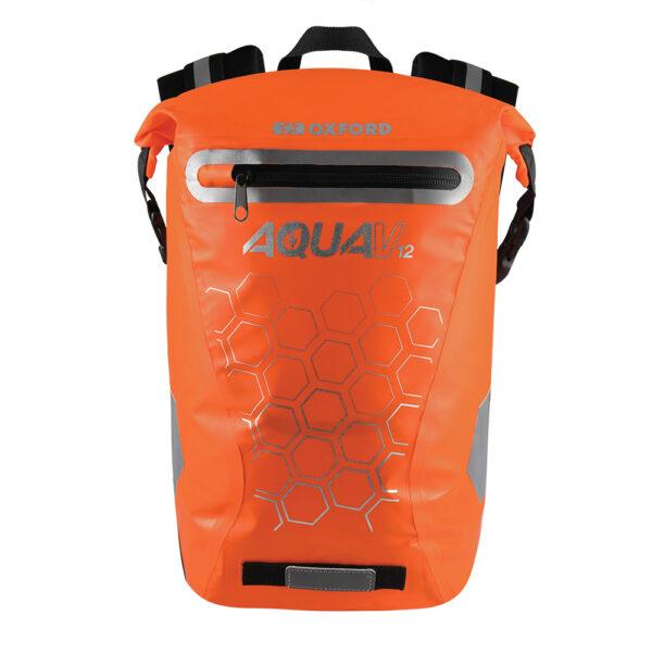 Oxford Aqua V 12 Backpack Orange