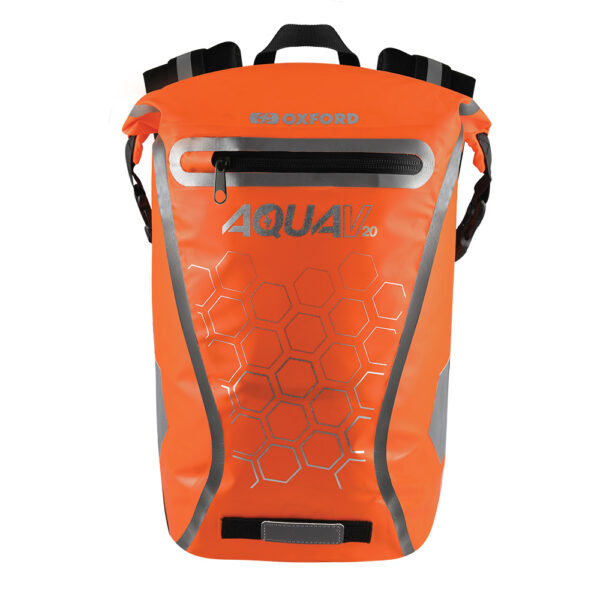 Oxford Aqua V 20 Backpack Orange