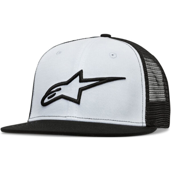 Alpinestars Corp Trucker Cap Black/White