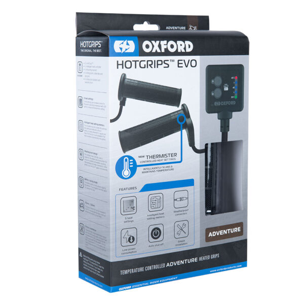 Oxford Hotgrips EVO Adventure Temperature controlled