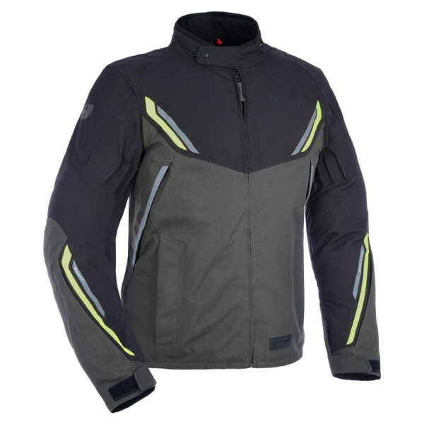 Oxford Hinterland Advanced Jacket Blk/Gry/Fluo