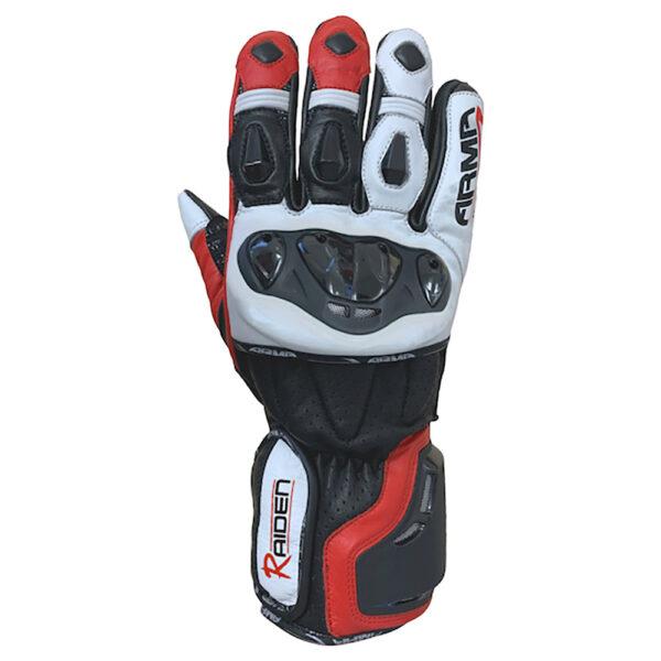 ARMR Raiden S950 Gloves - Black  Red