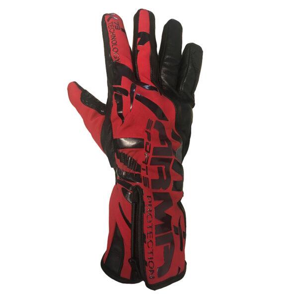 ARMR Kruga WP850 Glove - Black  Red