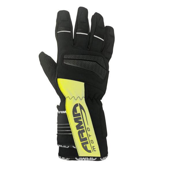 ARMR Hirama WP845 Glove - Black  Fluo Yellow