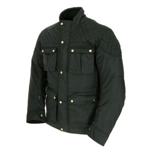 ARMR Komura 2 Wax Jacket - Black