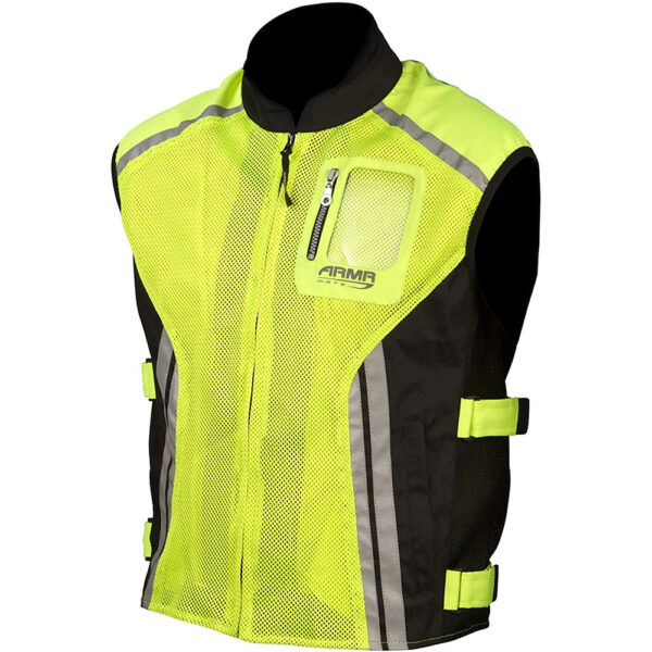 ARMR Reflective Vest - Fluo Yellow