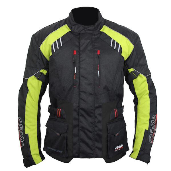ARMR Kiso 3 Jacket - Black  Fluo Yellow