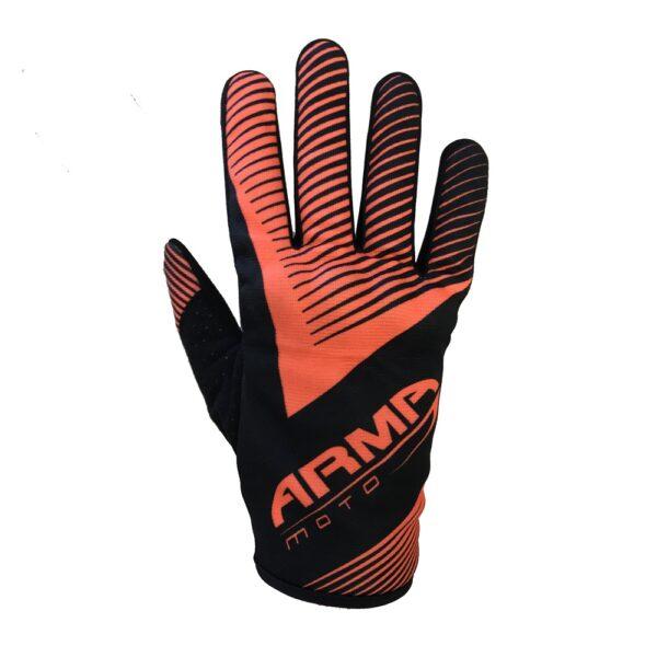 ARMR MX8 Motocross Glove - Black  Orange