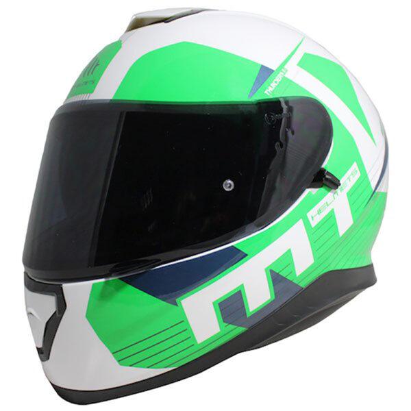 MT Thunder 3 Ray White  Green  Blue