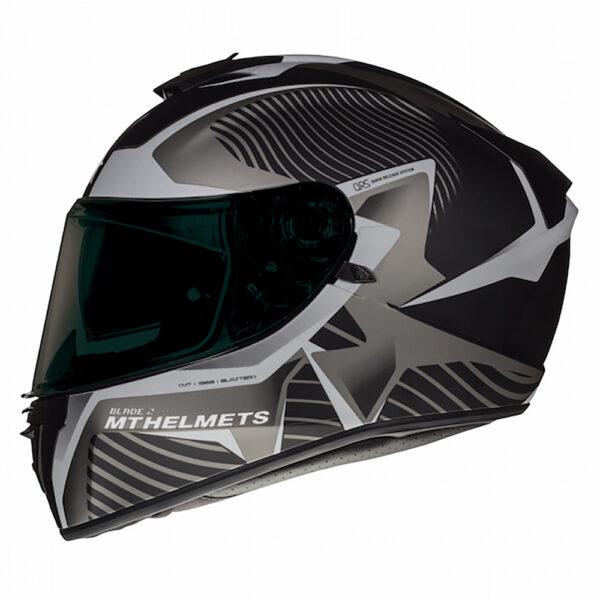 MT Blade 2 Blaster Matt Black  Grey