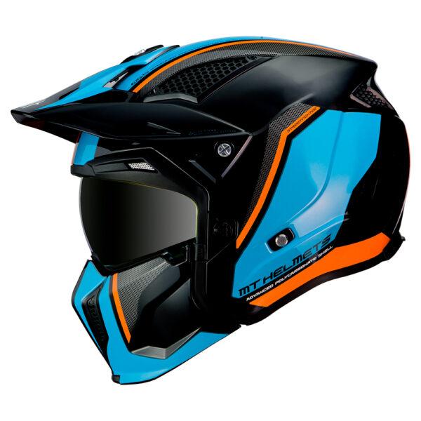 MT Streetfighter Twin Black  Blue  Orange