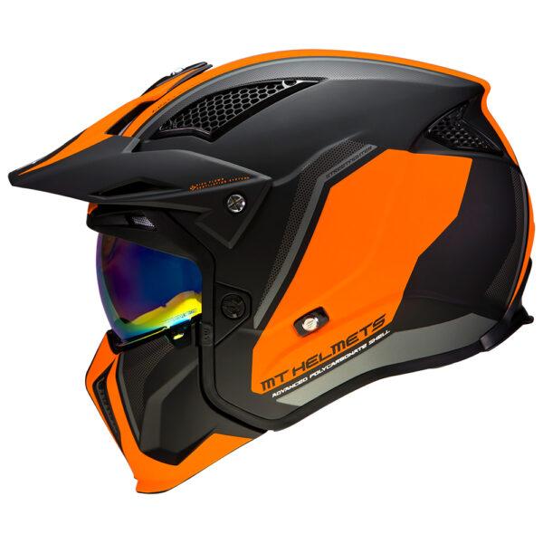 MT Streetfighter Twin Matt Black  Fluo Orange