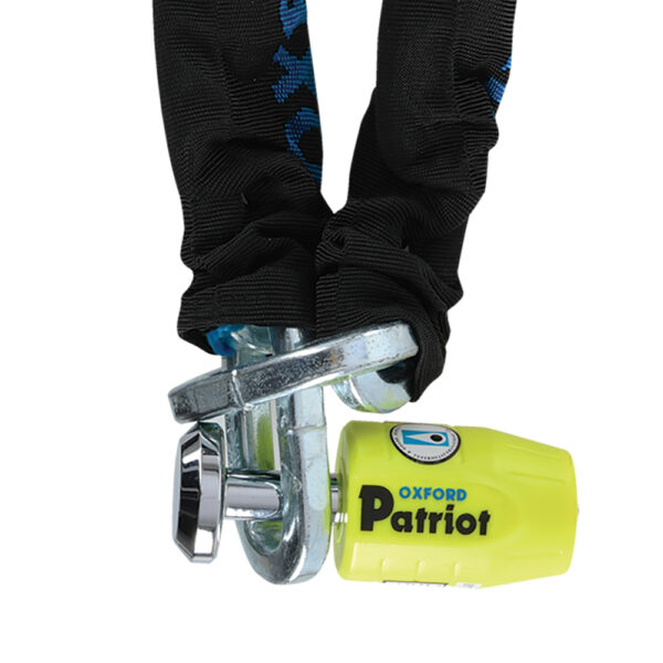 Oxford Patriot Chain  Padlock
