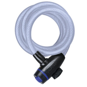 Oxford Cable Lock 12mm x 1800mm Clear