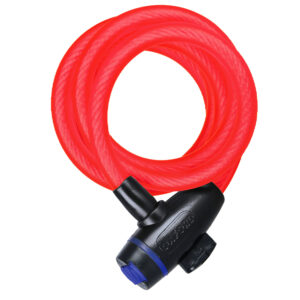 Oxford Cable Lock 12mm x 1800mm Red