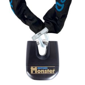 Oxford Monster 12mm Square Chain  Padlock