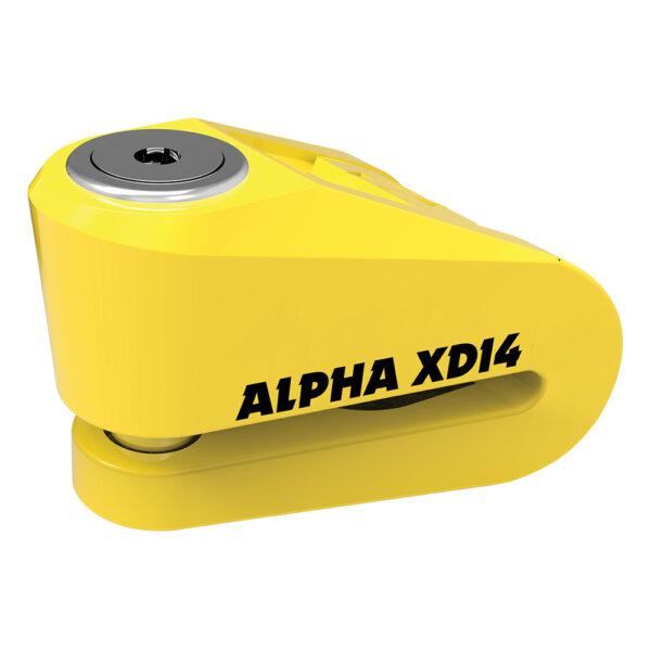 Oxford Alpha XD14 Disc Lock14mm pin Yellow