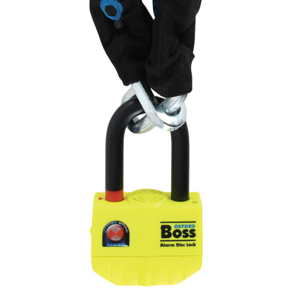 Oxford Boss Alarm 12mm Chainlock