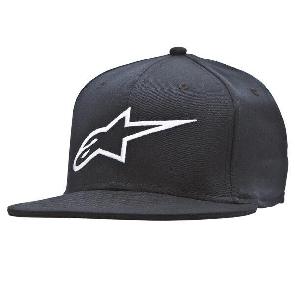 Alpinestars Ageless Flat Hat Black/White