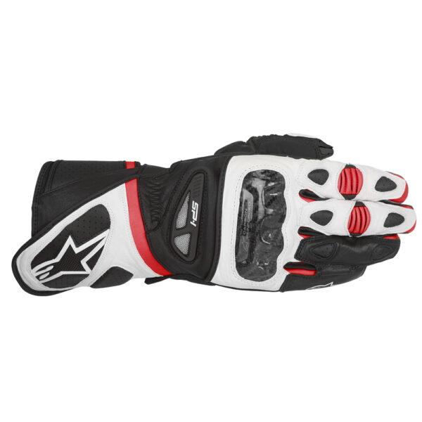 Alpinestars SP 1 Gloves Black White  Red